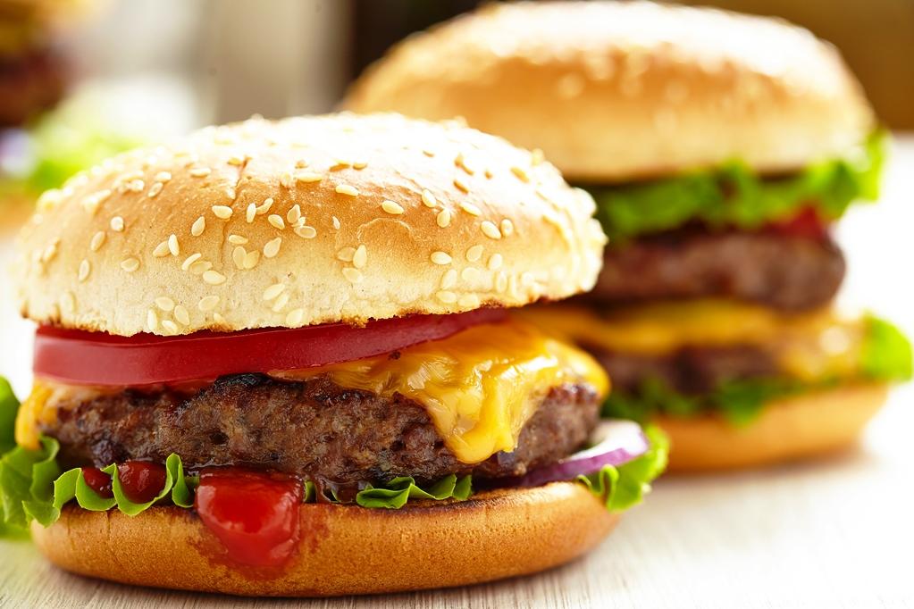 Hamburger fimo, pate polymere par Chala Moda