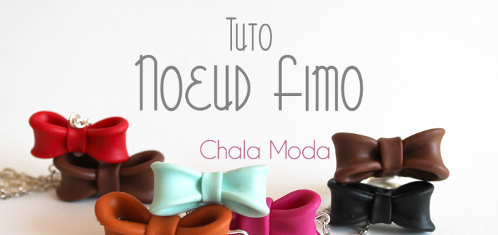DIY noeud fimo