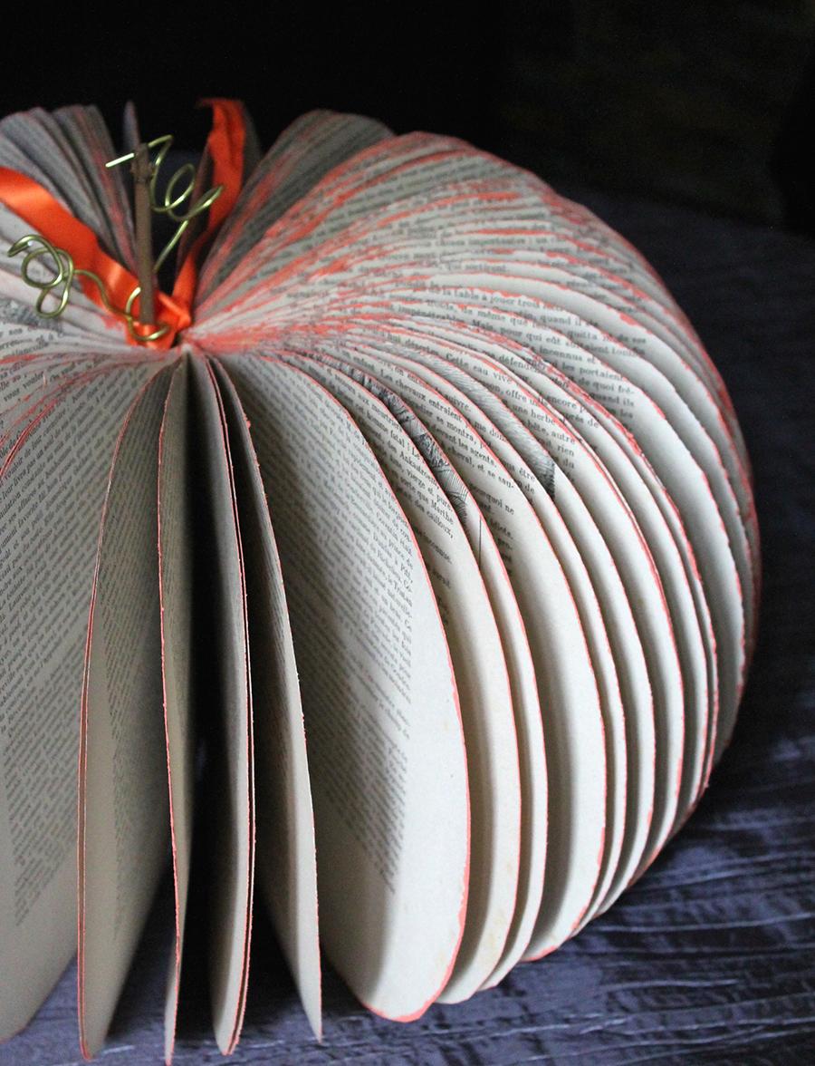 Trois diy pour halloween citrouille en papier - Citrouille halloween en papier ...