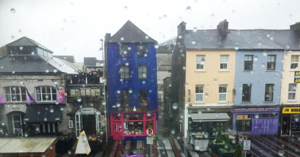 Cork sous la pluie