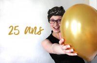 25 ans 25 choses sur moi
