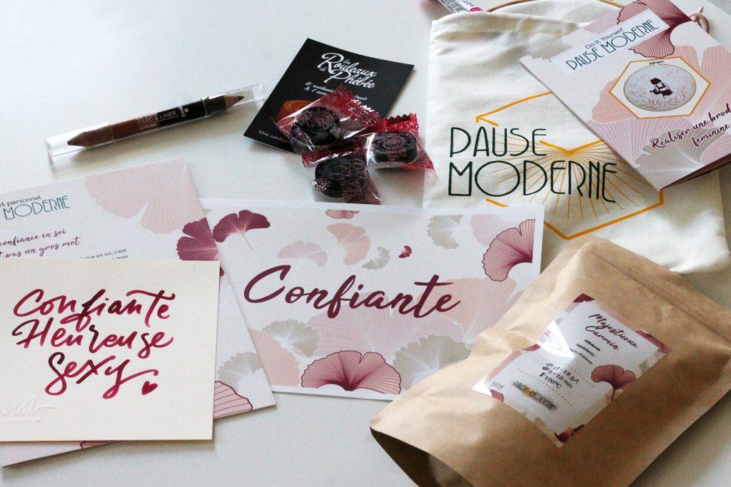 Pause Moderne Box mensuelle féminine et créative