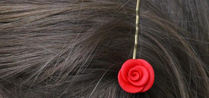 roses fimo
