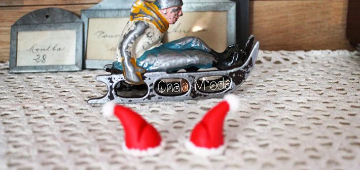 marques-places de noël en Fimo