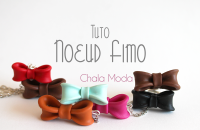 Comment faire un noeud en Fimo ?