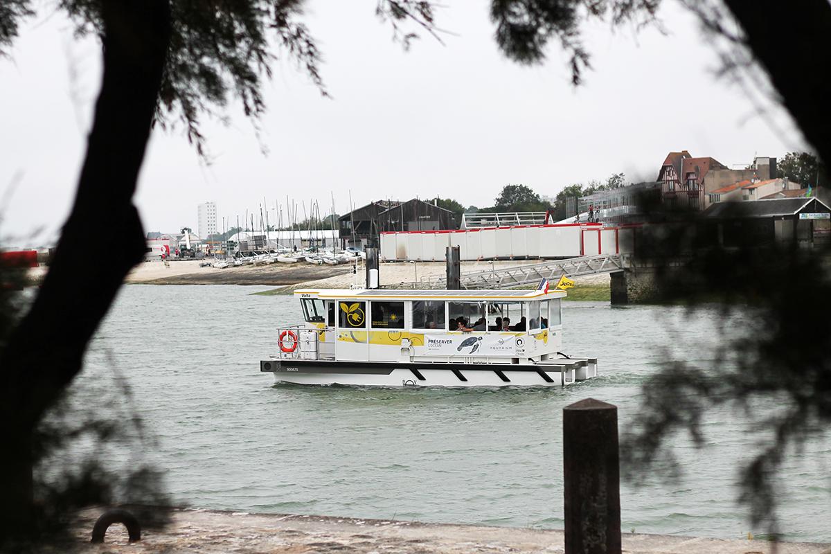 Bus de mer ou navette à la Rochelle
